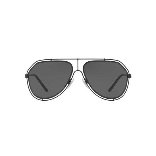 Óculos de Sol Dolce   Gabbana Piloto DG2176 Masculino - Compre Agora ... 8d7bc606fa