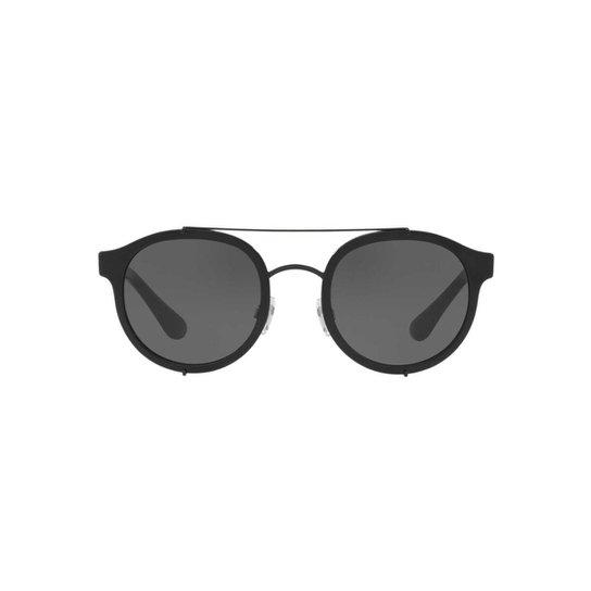 d639053166623 Óculos de Sol Dolce   Gabbana Irregular DG2184 Masculino - Preto ...