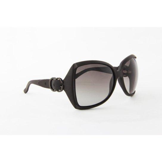 Óculos de Sol Gucci Acetato Lente Degradê - Compre Agora   Zattini 60274776a9
