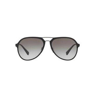 bb9d2342ef3f2 Óculos de Sol Prada Linea Rossa Piloto PS 05RS Masculino
