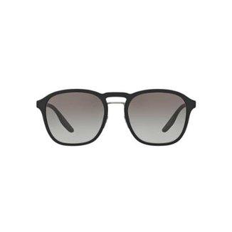 cbbc27e752778 Óculos de Sol Prada Linea Rossa Redondo PS 02SS Masculina