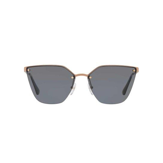 4b2a4680fc685 Óculos de Sol Prada Gatinho PR 68TS Feminino - Preto - Compre Agora ...
