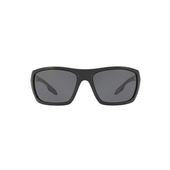 c5901f1efef3c Óculos de Sol Prada Linea Rossa Retangular PS 06SS Masculino - Preto ...