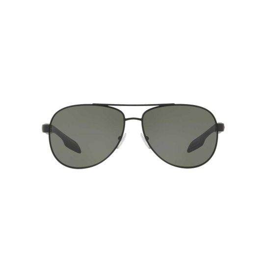 1ab49757c Óculos de Sol Ray-Ban Quadrado PS 53PS BenBow Masculino - Preto ...