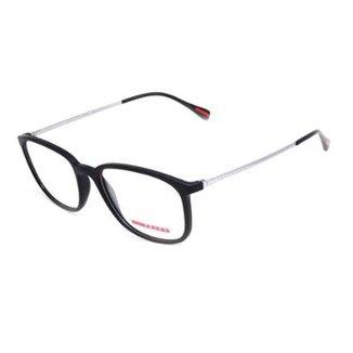 c4646ffa097e4 Armação De Óculos De Grau Prada 03H T 55 C Masculino