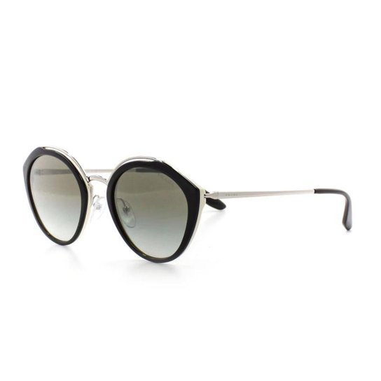 21652be990f2d4  Óculos De Sol Prada 18U T 53 C 4Bk-500 Feminino - Compre  Agora Zattini 9c0264e5ea