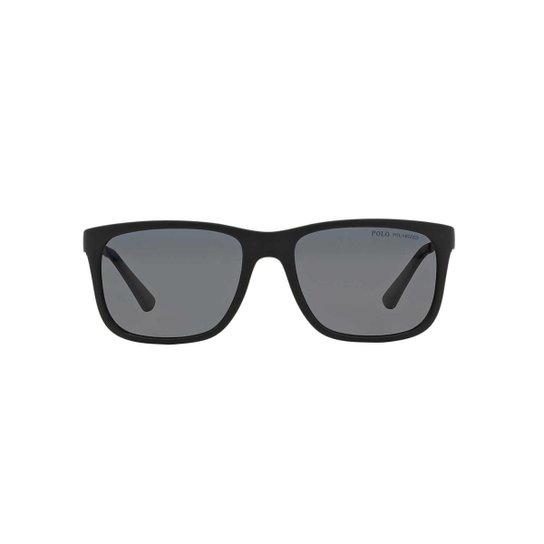 b1709f1a3 Óculos de Sol Ralph Lauren Retângular - Preto - Compre Agora | Zattini
