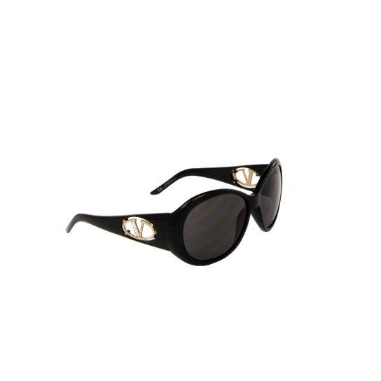Óculos de Sol Valentino 100% Proteção UV Óptica Melani Feminino - Preto 7db3d08762