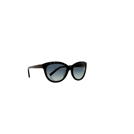 Óculos de Sol Valentino 100% Proteção UV Melani Feminino - Preto ... 2e14bc4f8c