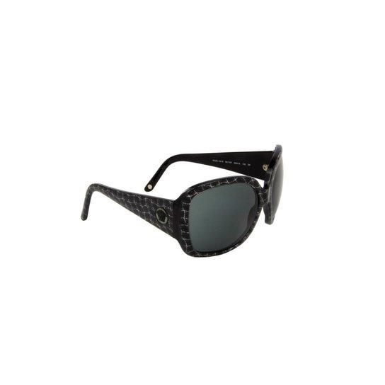 Óculos de Sol Versace 100% Proteção UV Ópticas Melani Feminino - Preto a8eccea775