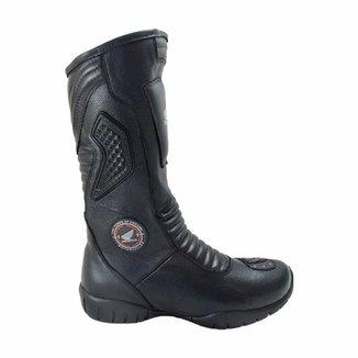 53d4e6d86 Bota Atron Shoes Motociclista c/ Protetor de Câmbio