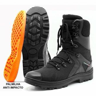 abf8c5cd3b Bota Militar Atron Shoes Cano Longo