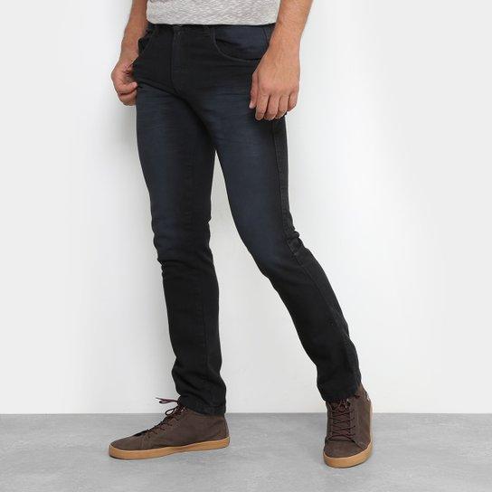 3a0a30ffc Calça Jeans Skinny Preston Estonada Black Masculina | Zattini