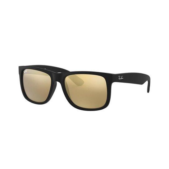 Óculos de Sol Ray-Ban RB4165L Justin - Preto - Compre Agora   Zattini e473b4bbc9