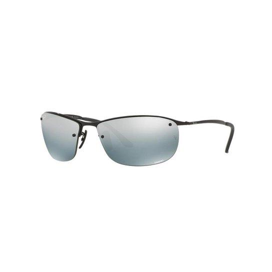4a891bc65ec9e Óculos de Sol Ray-Ban RB3542 Coleção Chromance - Preto - Compre ...