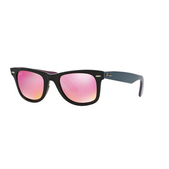 Óculos de Sol Ray-Ban RB2140 Original Wayfarer Bicolor - Compre ... 6c68c2b50a
