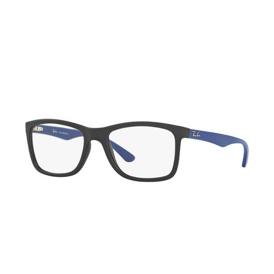 2f07a43cc Armação de Óculos Ray-Ban RB7027L - Preto - Compre Agora | Zattini