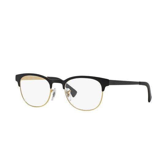 5afd7cea1 Armação de Óculos Ray-Ban RB6317 - Preto | Zattini