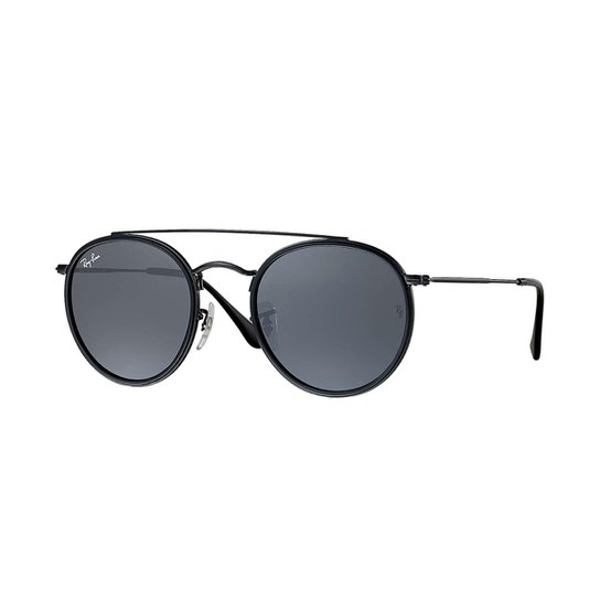 Óculos de Sol Ray-Ban Round Rb3647N Masculino - Compre Agora   Zattini cf048514c2