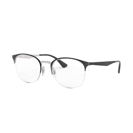 3fa1be05d Óculos de Grau Ray-Ban RB6422 Masculino - Preto | Zattini