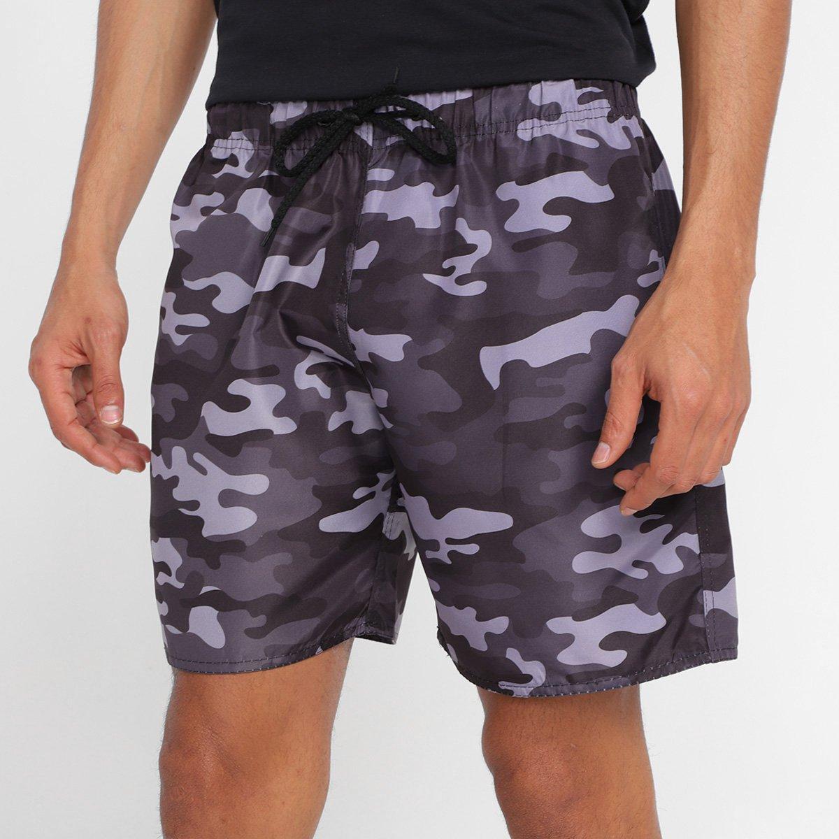 Shorts Wall Camuflado Masculino