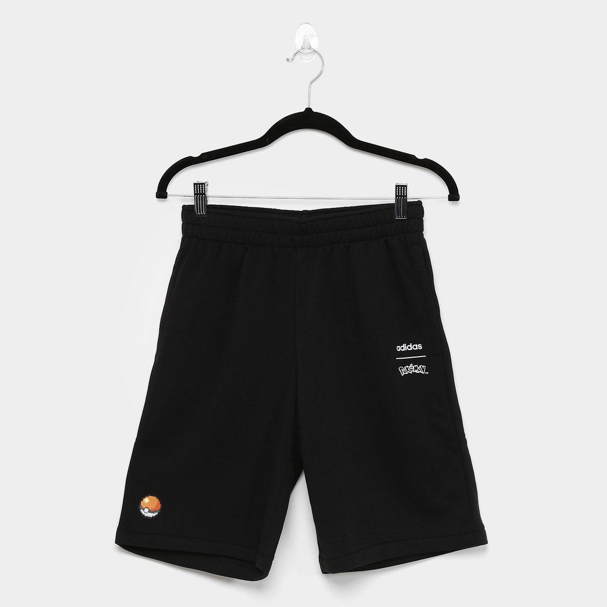 Short Infantil Adidas Yb Pkm Masculino