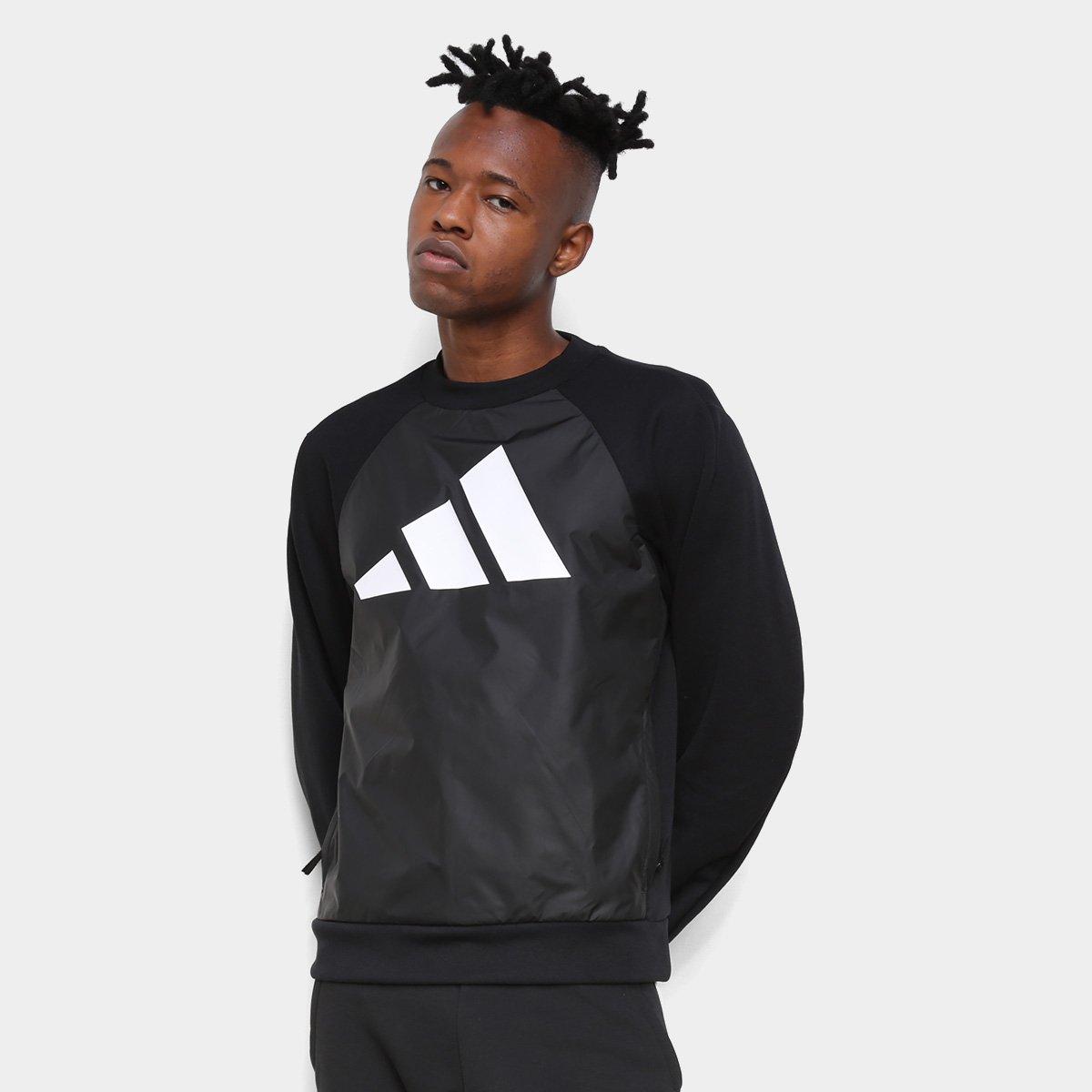 Moletom Adidas Logo Masculino