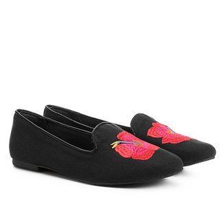 Mocassim Shoestock Slipper Tropical Feminino