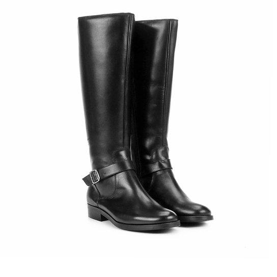 35e51a9d7b Bota Couro Cano Curto Shoestock Montaria Feminina - Compre Agora ...