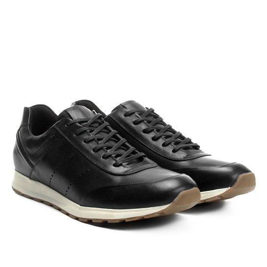 4796619d33 Tênis Couro Shoestock Jogging Perfuros Masculino - Compre Agora ...