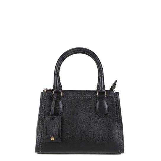 Bolsa Shoestock Satchel Pequena Mestiço Feminina - Compre Agora ... f16a3c18e41