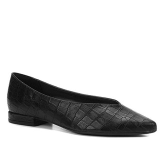 Sapatilha Shoestock Croco High Vamp Feminina