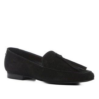 92594bd216 Mocassim Couro Shoestock Loafer Nobuck Feminino
