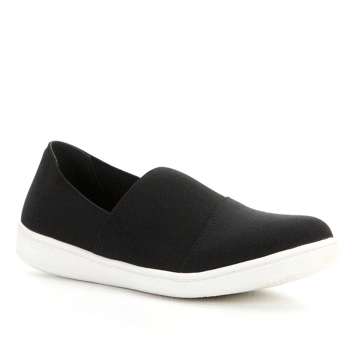 Tênis Shoestock Slip On Elástico Feminino