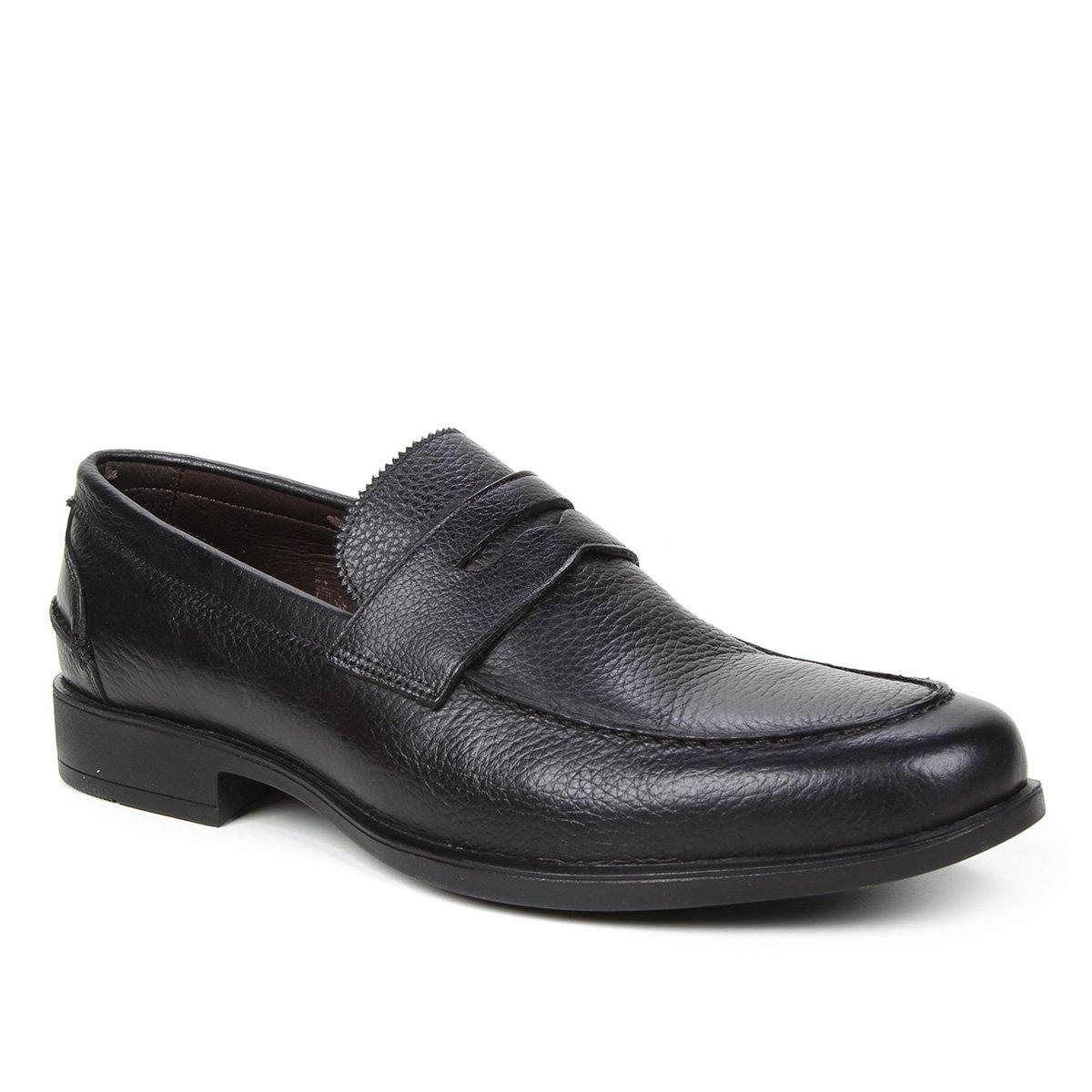 Sapato Social Couro Shoestock Gravata Masculino
