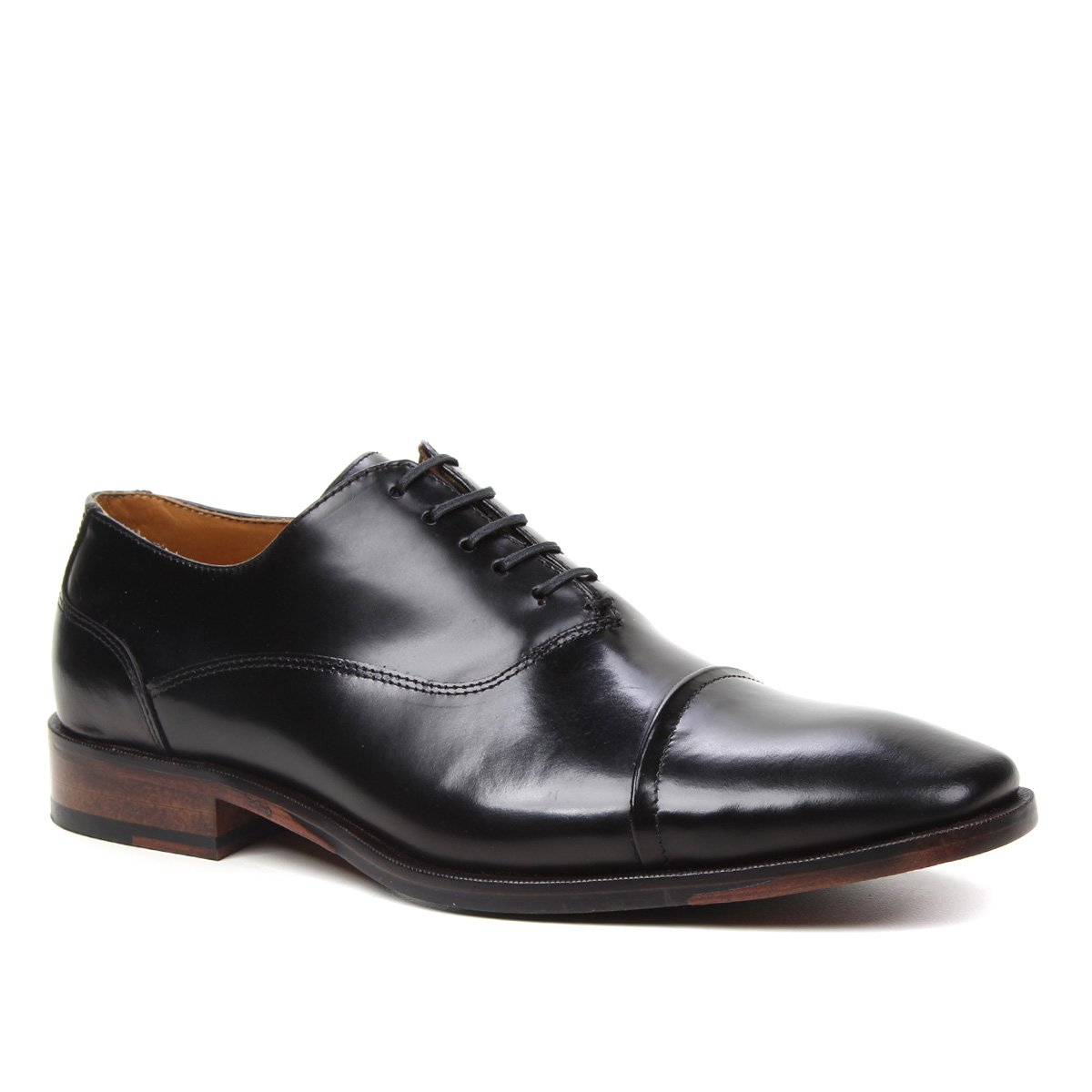 Sapato Social Couro Shoestock Box Cadarço Masculino