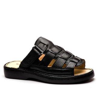 82c5a05d49 Sandália Masculina 323 em Couro Doctor Shoes