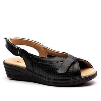 352883835 Sandálias Doctor Shoes Preto Tamanho 36 - Calçados | Zattini