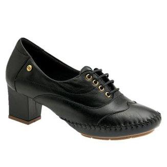 340439d6eb16a Oxford Doctor Shoes 790 em Couro Feminino