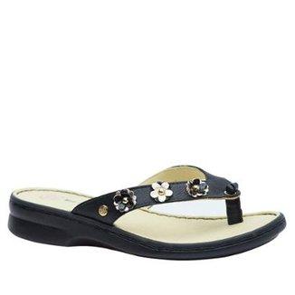 4a7bae1ee9 Chinelo Couro Flor Glace Verniz 359 Doctor Shoes Feminino