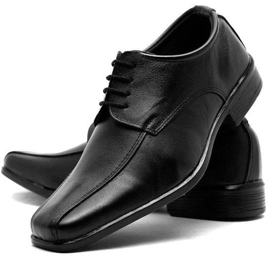f008a782ec Sapato Social Masculino de Amarrar em Couro Fox Shoes - Compre Agora ...