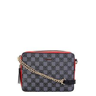 a756fd1f5 Bolsa Gash Mini Bag Alça Corrente Estampa Mickey Feminina