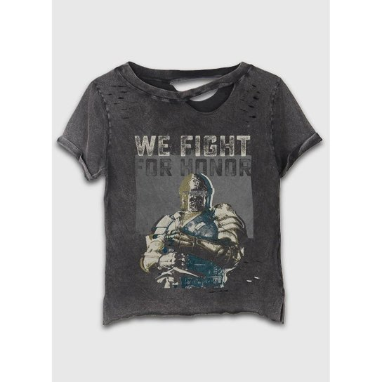 23665a4da T-Shirt Bandup! Destroyed For Honor We Fight For Honor - Compre ...