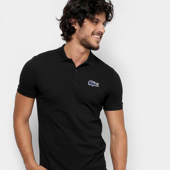 5dcadbd4cf3ed Camisa Polo Lacoste Live Piquet Masculina - Compre Agora   Zattini