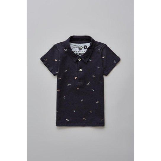 Camisa Polo Masculina Infantil Bb Sudoeste Reserva Mini - Preto ... a05127ca5ec
