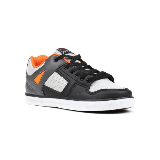 dd685ed3857 Tênis Infantil Para Menino Cinza laranja - Compre Agora