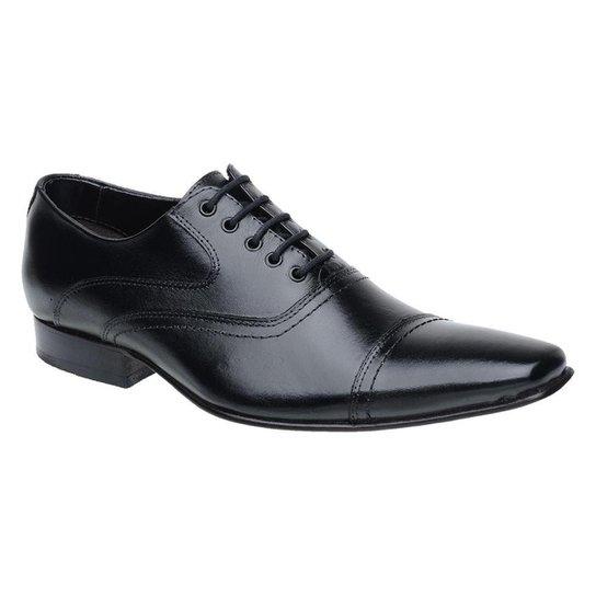 39f04c292d Sapato Social Couro Malbork Masculino - Preto - Compre Agora | Zattini