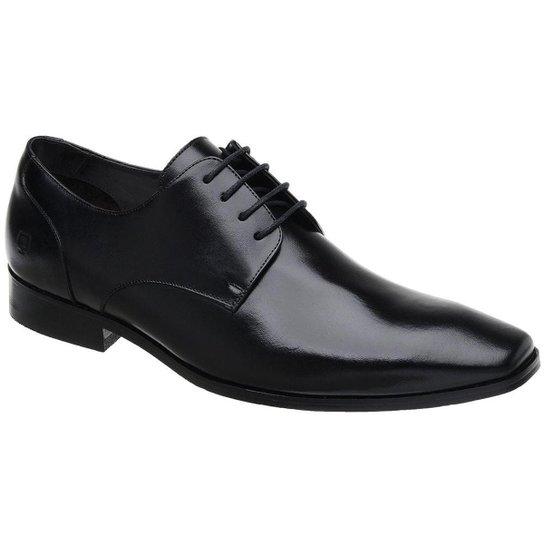 8003ec045 Sapato Social Couro Malbork Masculino - Preto - Compre Agora | Zattini