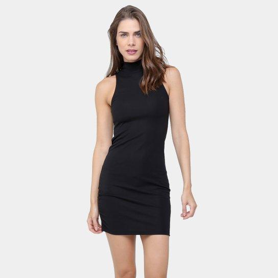 c4dc95478 Vestido Drezzup Tubinho Básico Gola Alta - Compre Agora