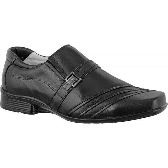 5f782dd1a Sapato Social Confort Ranster Premium Com Fivela - Preto | Zattini